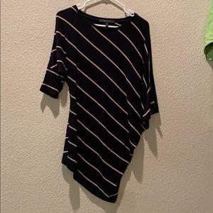bcbgmaxazria striped shirt